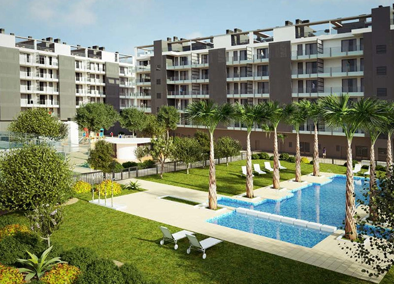 New build - Flat - Villajoyosa - Beach